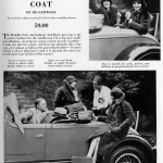Rumble-Seat Coat / Best & Co 1928