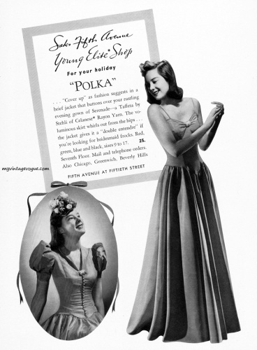 Saks Fifth Ave 1939
