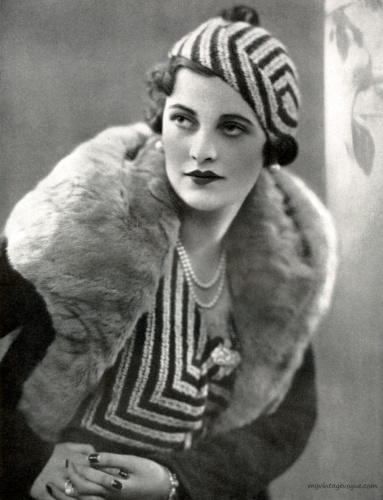 Socialite Margaret Whigham - Town & Country January 1933