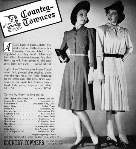 Country Towners 1939