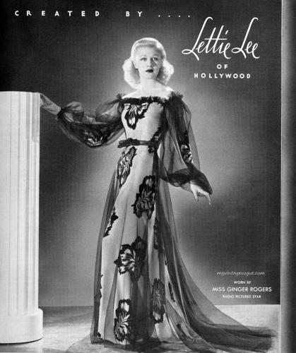 Good ginger rogers lingerie opinion you