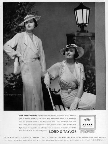 Lord & Taylor 1934