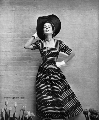 Dress by Mary Black 1949
