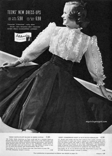 Aldens Catalog Fall / Winter 1948-1949