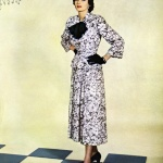 Enka Rayon - dress by Martini Designed 1948