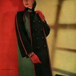 Pacific Worsted Woolens / Coat by Vera Maxwell 1944