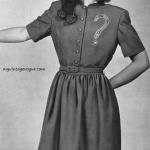 The Do you love me dress by Teena Paige 1946