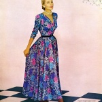 Enka Rayon 1948, dress by Martini Designed
