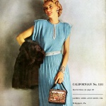 Columbia Hand Knit Fashions 1948, photo by Conant-Bradley