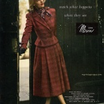 Miron Woolens, suit by Brigance 1947