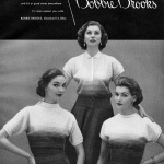 Bobbie Brooks 1952 - Sherry Nelms, Suzy Parker & Georgia Hamilton