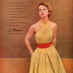 Avisco, dress by Nelly de Grab 1952