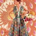 Betty Barclay - Fuller Fabrics 1954