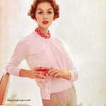 Lucinda Hollingsworth / Canterbury Sweaters 1957