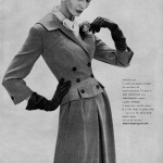 Forstmann - suit by Dan Millstein 1957 / Lucinda Hollingsworth