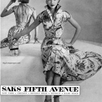 Saks Fifth Avenue 1951, photo by Wenczel