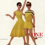 Jonathan Logan Sportswear in Cone Galatea fabric 1956