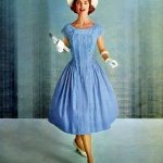 Model wearing Betty Barclay 1959
