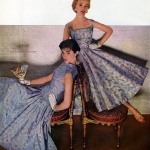 Dresses by Mr Mort / Celanese 1955