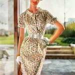 Simplicity Pattern Book Summer 1954 / Nancy Berg, photo by Lillian Bassman