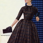 Chromspun 1956 - Dress by Judy 'n Jill by Shannon Rodger
