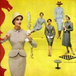 American Rayon Institute - Suits by Lady Renlyn & Myron-Louis 1955