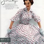 Jonathan Logan 1953 / Model Nan Rees