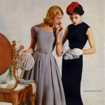 Dresses by Jonathan Logan 1957