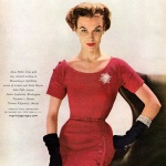Enka Rayon - dress by Anna Miller 1952