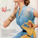 Alice Bruno - Wamsutta designed by Pat Hartly 1951