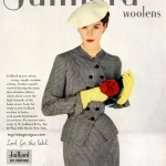 Juilliard Woolens / Vogue Pattern 667 - Spring 1952
