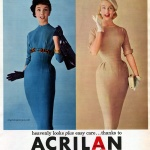 Acrilan 1956 dresses by Sue Brett