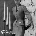 Van Houten 1952, suit by Joseph Goldberg
