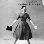 Dress by Lanz in Herbert Meyer Cotton 1956 / Lois Gunas Wideman