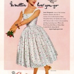 Bates 1955 / Dress by Lanz Originals
