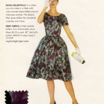 McCall's Pattern 4918 - Celanese 1960