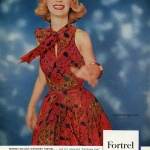 Dress by Georgia Bullock - Fortrel 1961