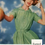 Dress by Hannah Troy - Fortrel 1961