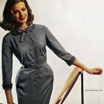 Dress designed Nelly Don 1960