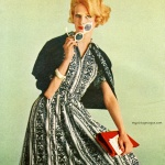 Holiday in Arnel - Outfit by Serbin of Miami 1960