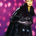 Faux Fur coat by Dynel 1960