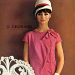 Model Carole Ford - Renee Lise / J. Leonard 1961