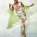 International Silk Association / Dress by Saks Fifth Avenue 1965