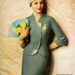 Suit by Lilli Ann 1960