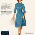 McCall's Pattern 5552 - Celanese 1960