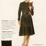 McCall's Pattern 5512 - Celanese 1960