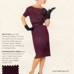 McCall's Pattern #5503 - Celanese 1960