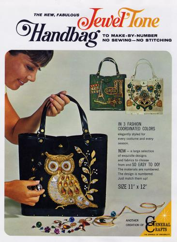 Jewel Tone Handbag 1960's