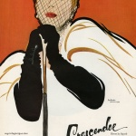 Crescendoe Gloves 1951 - Illustation by Rene Gruau