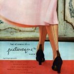 Picturesque Nylons 1950